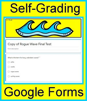 Rogue Wave Teaching Unit for 7th Grade HMH Collections Google Ready Paperless