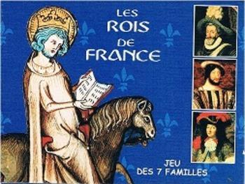 Rois de France Jeu des 7 familles game