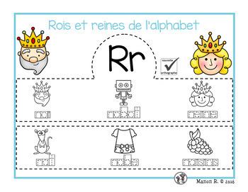 Rois et reines de l'alphabet  (French Alphabet Crown)