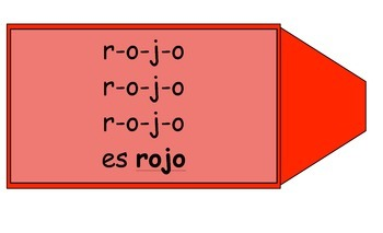 Spanish Color Song for ROJO