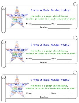 Role Model Cards
