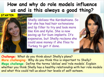 Role Models + Self Esteem