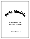 Role Models Unit - Quotes and Activities for use with Famo