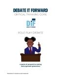 Role Play Debate