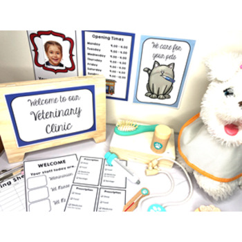 Dramatic Role Play Bundle for Post Office, Supermarket, Hospital & Airport