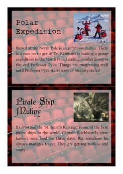 Role Play Situations Flipbook