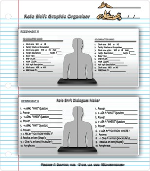 Role Shift Worksheet