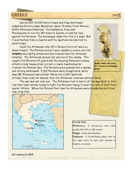 Role of Athens & Sparta During the Persian Wars: Greece by Don Nelson