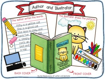 Role of Author & Illustrator for Little Learners (RL.K.6)