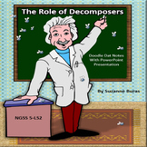 Role of Decomposers: PowerPoint Presentation with Doodle Dat Notes