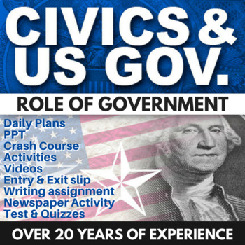 Role of Government - Civics - Chapter 1 - Holt