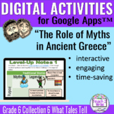 Role of Myths Ancient Greece Digital Activities for Collec