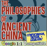 Ancient China Philosophies Activity   Confucianism Daoism Legalism Activity