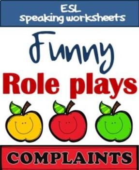 Role plays - COMPLAINTS