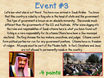 Roles & Responsibilities of Citizens Around the World Fortune/Misfortune