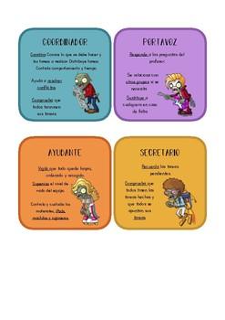 Roles cooperativos (Plants vs Zombies)