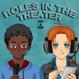 Roles in the Theater (Technical Theatre)