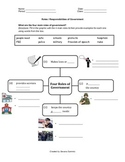 Roles of Government / What is government?