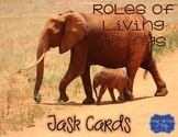 Roles of Living Things in Ecosystems Task Cards {Scoot}