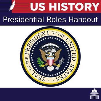 Presidential Roles Handout