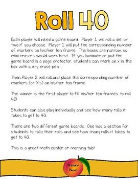 Roll 40!