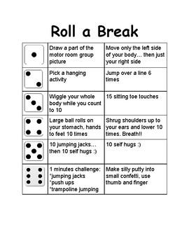 Roll A Break