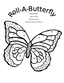 Roll-A-Bumble Bee AND Roll-A-Butterfly