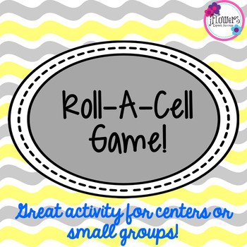 Roll-A-Cell Game! Great Review Game!