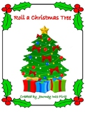 Roll A Christmas Tree Addition Math Center