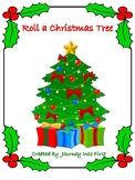 Roll A Christmas Tree Addition Math Center