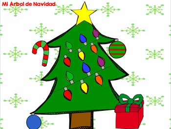Roll A Christmas Tree {Spanish}