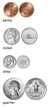 Roll-A-Coin Graphing Lesson (Coin Identification, Money)
