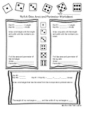 Roll-A-Dice Area and Perimeter