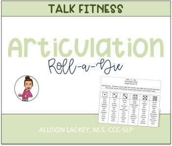 Roll-A-Die Articulation Games