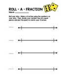 Roll A Fraction Numberline