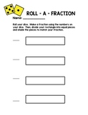 Roll A Fraction Rectangles