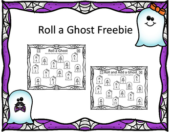 Roll A Ghost Freebie