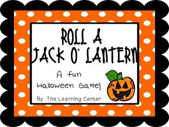 Roll A Jack O' Lantern