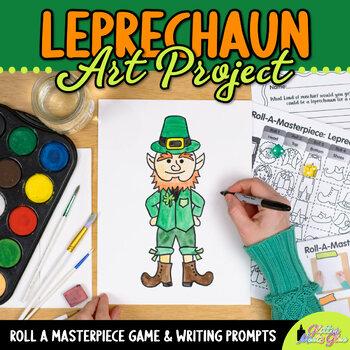 Saint Patrick's Day Drawing Game - Art Sub Plans - Art Lesson