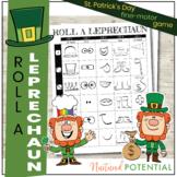 Roll A Leprechaun Game! Engaging Fine Motor, St. Patrick's