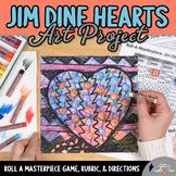 Art Lesson: Jim Dine Art History Game {Art Sub Plans for T