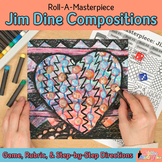 Art Lesson: Jim Dine Art History Game & Art Sub Plans for Teachers