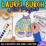 Art Lesson: Laurel Burch Cats Folk Art History Game & Art Sub Plans