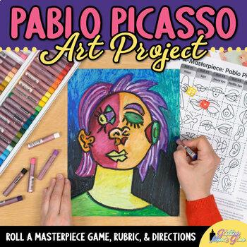 Art Lesson: Pablo Picasso Art History Game {Art Sub Plans for Teachers}