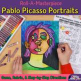 Art Project: Pablo Picasso Portraits Art Game, Art Sub Plans, & Assessments