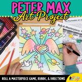 Art Lesson: Peter Max Art History Game & Art Sub Plans for Teachers