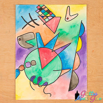 Art Lesson: Wassily Kandinsky Art History Game   Art Sub Plans for Teachers