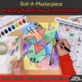 Art Lesson: Wassily Kandinsky Art History Game & Art Sub Plans for Teachers