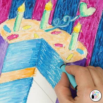 Art Lesson: Wayne Thiebaud Art History Game {Art Sub Plans for Teachers}