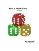 Roll A Math Fact Game